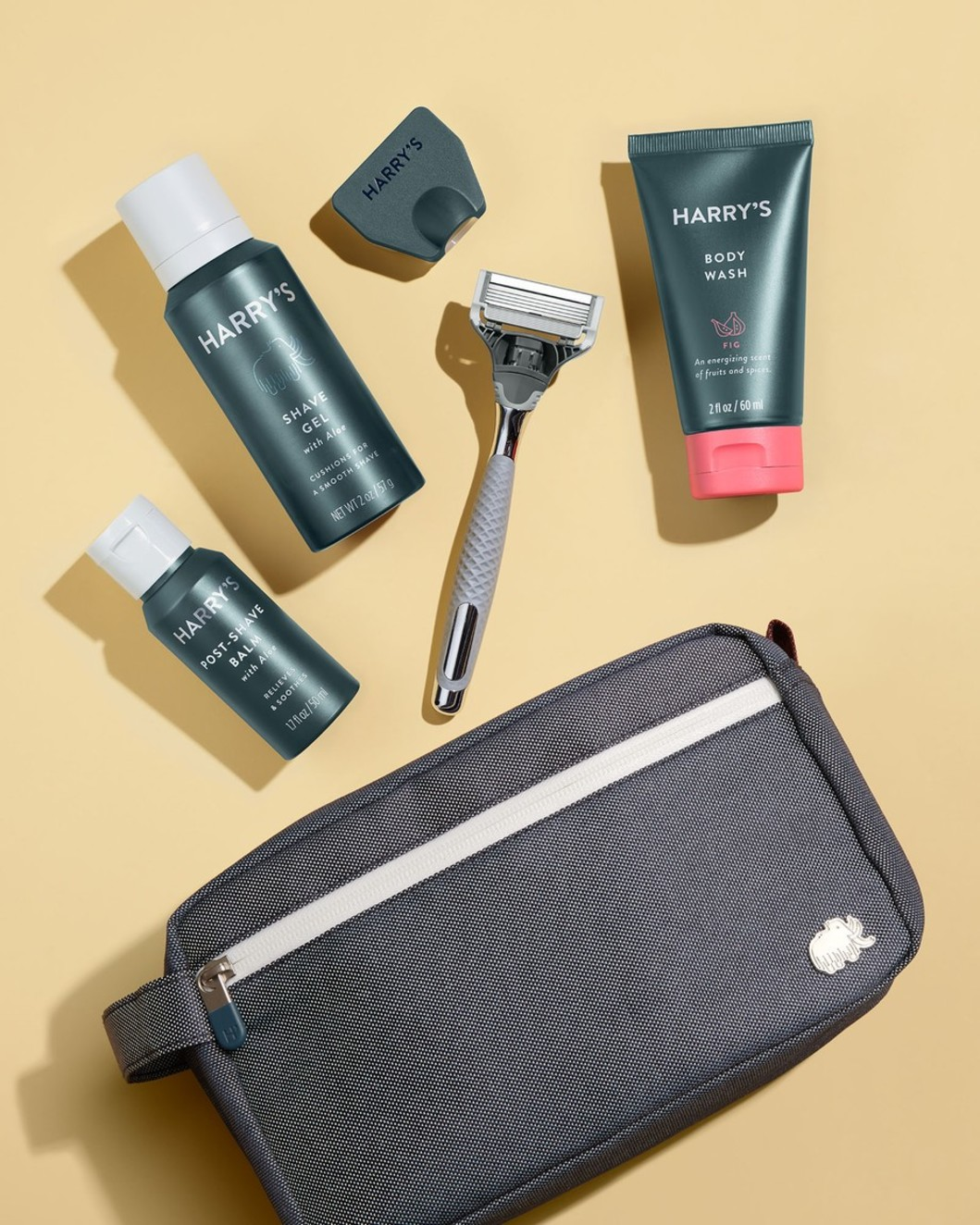 Deluxe Travel Kit - Winston Handle, Fig Body Wash