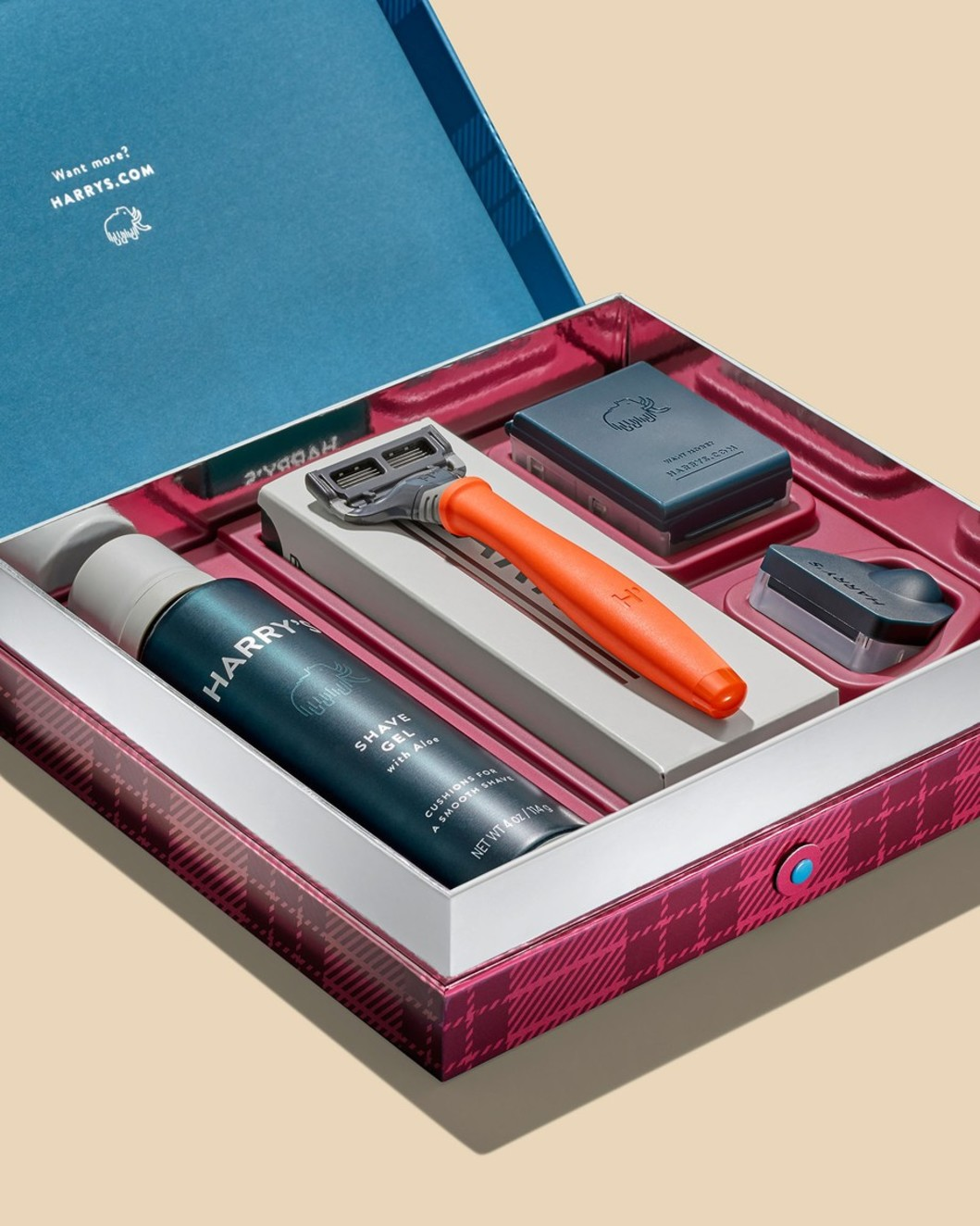 Holiday Truman Gift Set with Shave Gel
