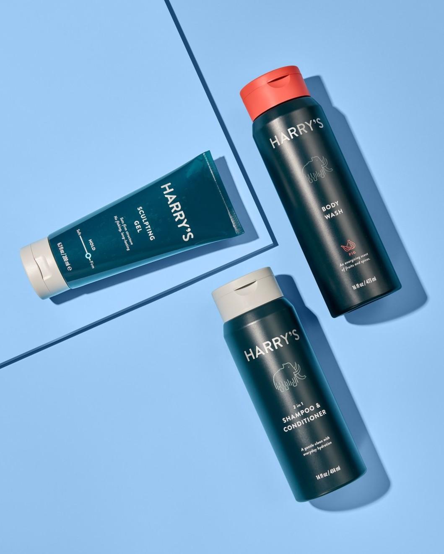 Shampoo, Sculpting Gel, Fig Body Wash