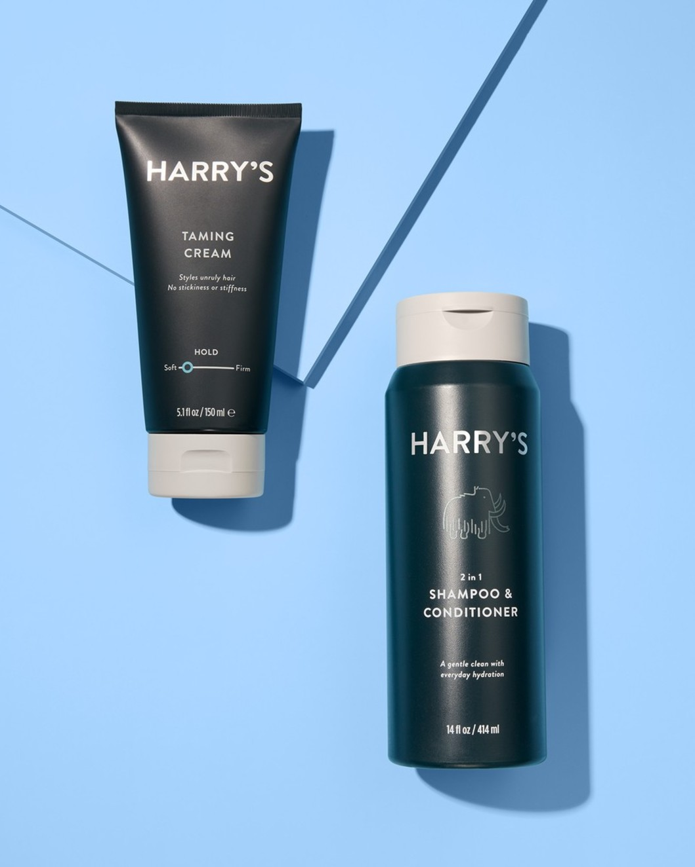 Shampoo and Taming Cream
