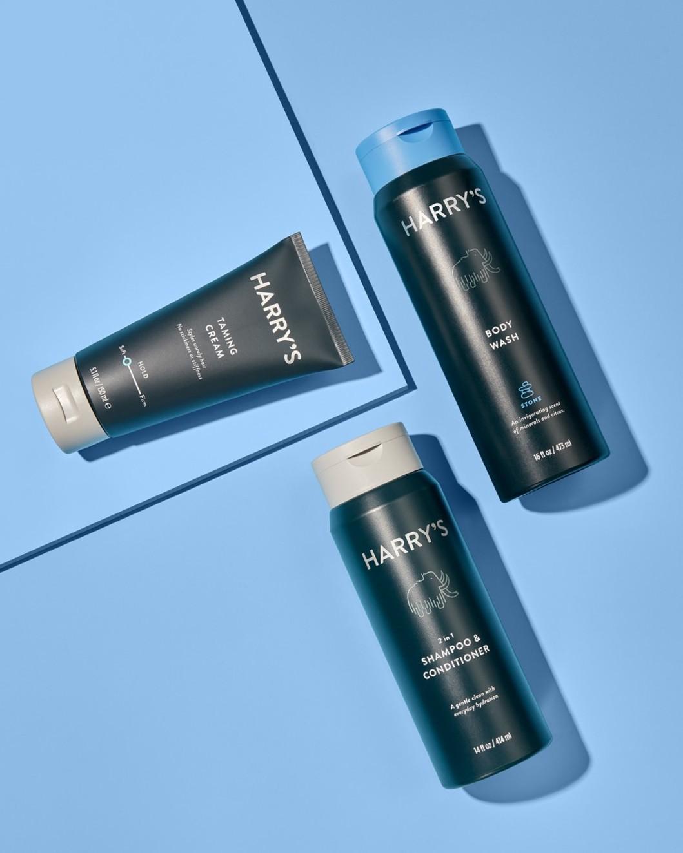 Shampoo, Taming Cream, Stone Body Wash