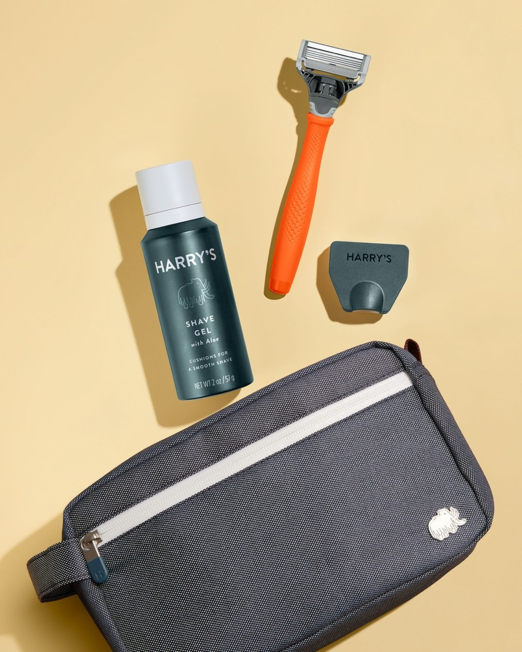 Essentials Travel Kit - Orange Truman Handle